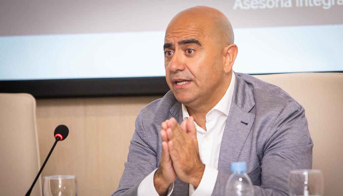 Iván Mañas, presidente de Ofydes baja